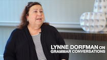 Lynne Dorfman on Grammar Conversations