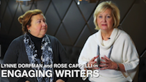 Lynne Dorfman and Rose Cappelli on Engaging Writers